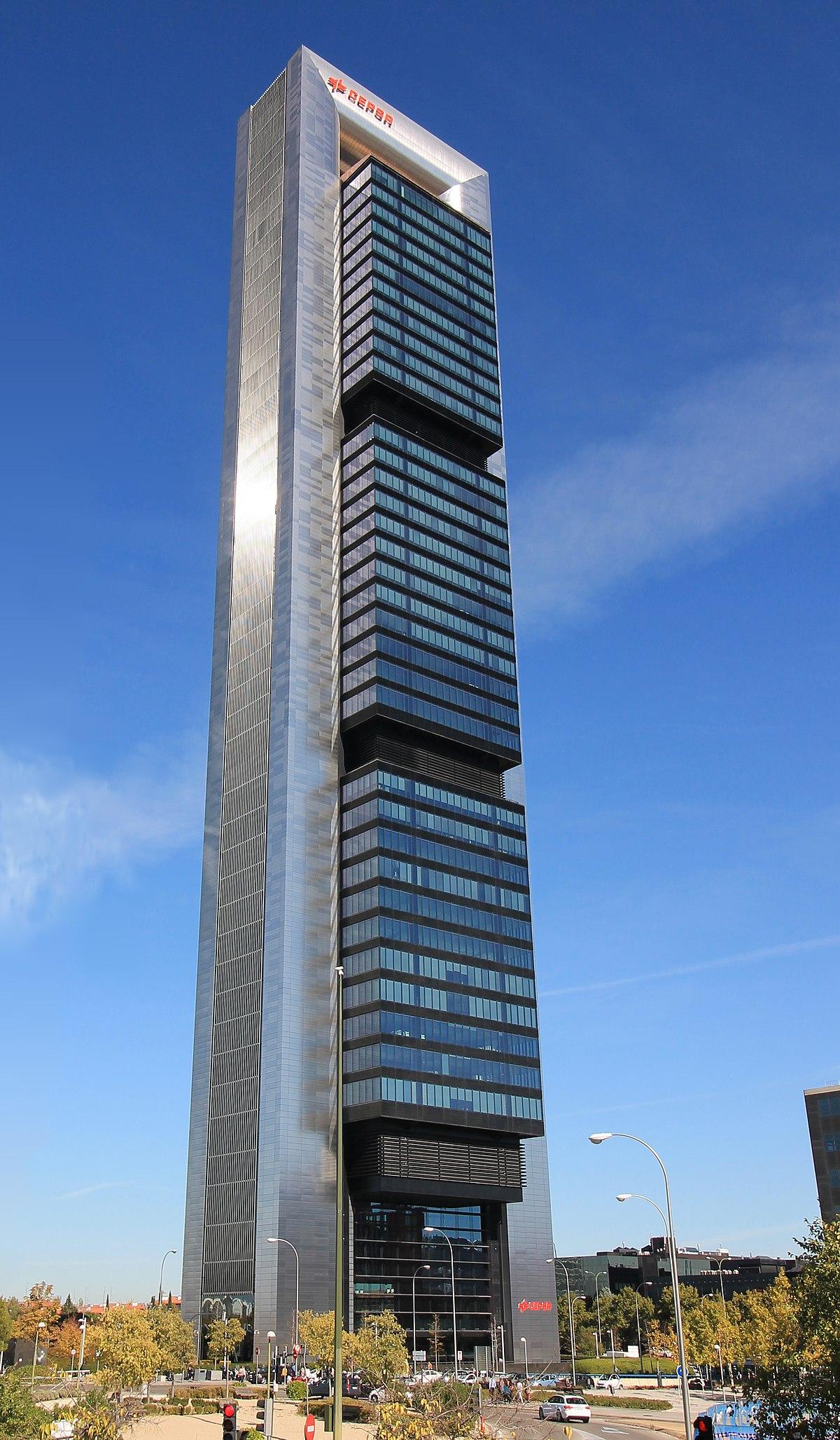 Torre cepsa wikipedia for Repsol oficinas