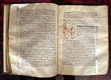 In evangelium Ioannis, 1050–1100 ca., Biblioteca Medicea Laurenziana, Florenz (Quelle: Wikimedia)