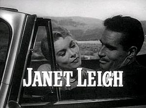 Screenshot of Janet Leigh and Charlton Heston ...