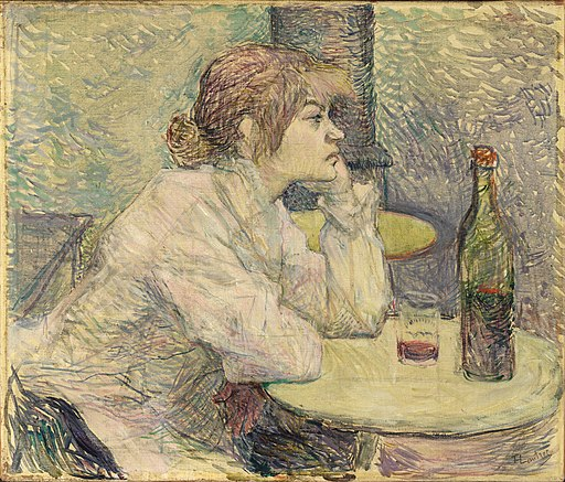 Toulouse-Lautrec - The Hangover (Suzanne Valadon), 1887-1889