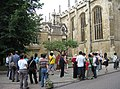 Tourists outside Trinity College - geograph.org.uk - 980814.jpg