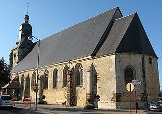 Tourouvre - Saint-Aubin church