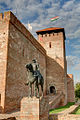 Tower and entrance to Gyula Castle.jpg