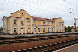 Yahotyn train station