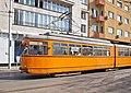 Tram in Sofia near Central mineral bath 2012 PD 012.jpg