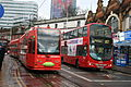 Tramlink 2542 (Turkish Airlines) on Route 3 & Abellio London 9068 on Route 157, West Croydon (16243782447).jpg