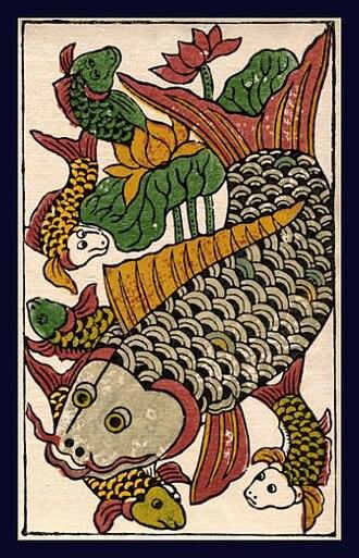 Bắc Ninh Province - Dong Ho style print