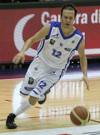Dinamo Sassari - The American naturalized-Italian guard Travis Diener was the second player to have his number retired by Dinamo