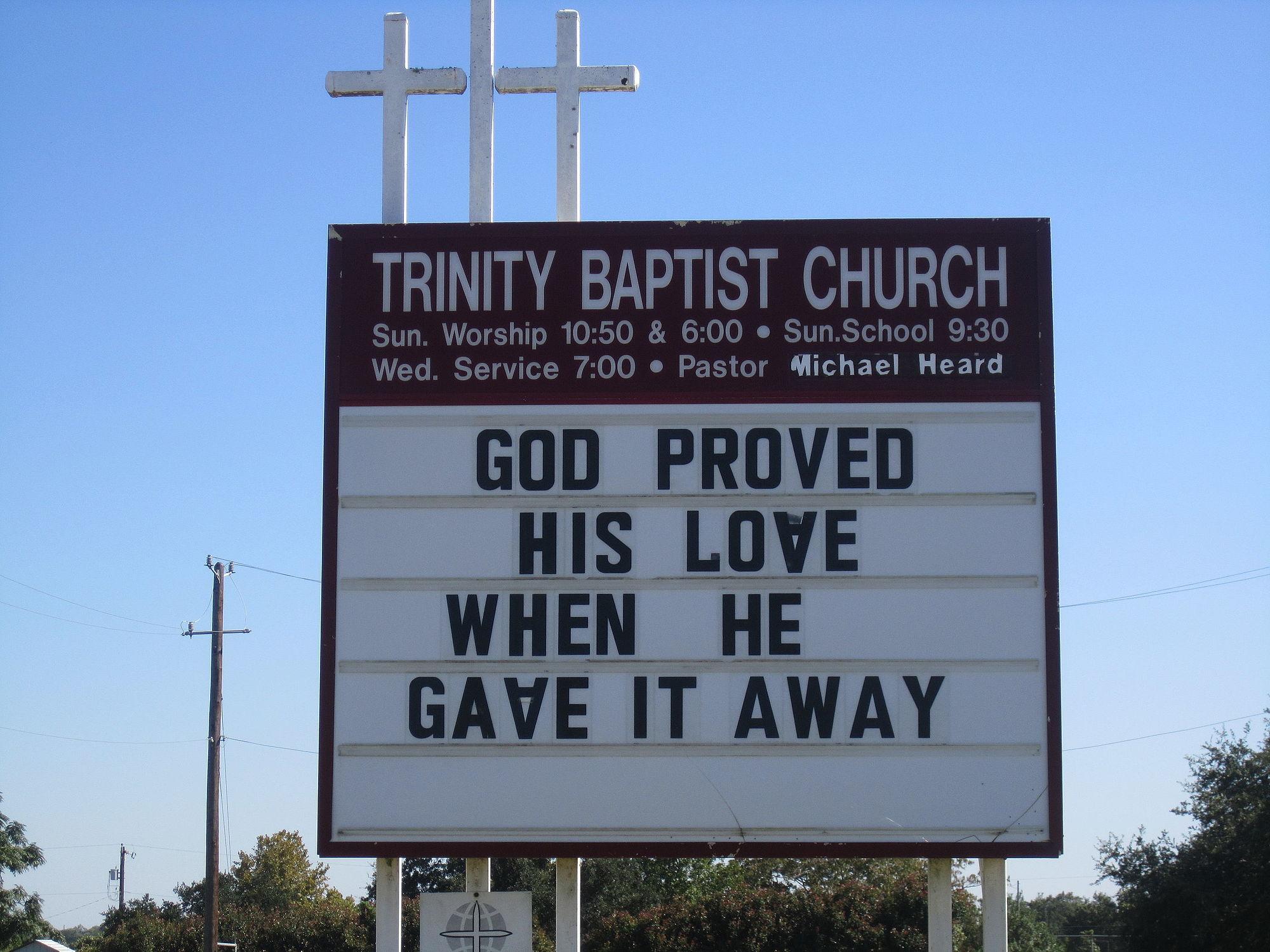File Trinity Baptist Church Sign Lytle Tx Img 0746 Jpg