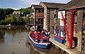Trip boat at Skipton - geograph.org.uk - 1658214.jpg
