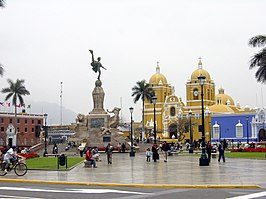 Plaza de Armas of Trujillo (Peru)