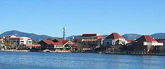 Tuggeranong - Tuggeranong Town Centre is located on Lake Tuggeranong