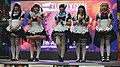 Tukuyomi Maid Café maids on PF30 stage 20190518e.jpg