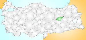 Tunceli Turkey Provinces locator.jpg