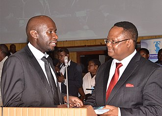 Tundu Lissu - Tundu Lissu chatting with former President of TLS John Seka, during the Tanganyika Law Society (TLS) Annual Conference and General Meeting of 2016 in Arusha.