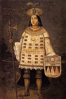 Túpac Amaru Monarch of the Inca state in Peru