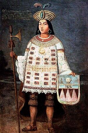 Túpac Amaru - Tupac Amaru, the last Sapa Inca of Vilcabamba