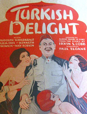 Turkish Delight (1927 film) - Film poster