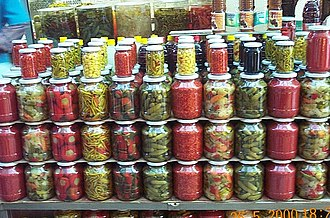 Pickling - Torshi, traditional pickles in Southeast Europe, Turkey and the Caucasus