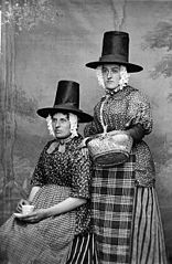 Two women in national dress (Jones)