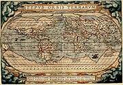 Typus Orbis Terrarum 1570