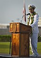 U.S. Navy Adm. Cecil D. Haney, the commander of the U.S. Pacific Fleet, speaks during a Pearl Harbor 71st anniversary commemoration ceremony at the Pearl Harbor Visitor Center in Honolulu 121207-N-WF272-135.jpg