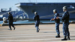 U.S. Sailors assigned to the aircraft carrier USS George H.W. Bush (CVN 77) conduct security drills during a force protection exercise Oct. 2, 2013, at Naval Station Norfolk, Va 131002-N-MW819-096.jpg