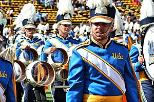 English: UCLA marching band