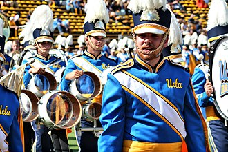 True Blue (color) - UCLA Marching Band added True Blue to its uniforms in 2007.