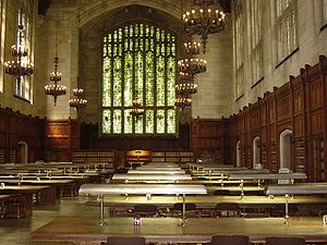 Law School Library reading room