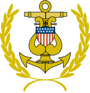 United States Coast Guard Band - Image: USCGB Insignia