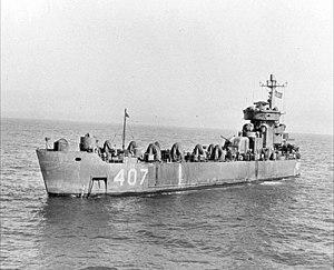 USS Chariton River (LSM(R)-407) - Image: USS Chariton River