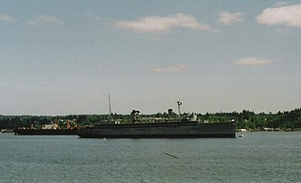 USS Ajax (AR-6) - USS Ajax at Bremerton in 1989.