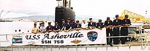 USS Asheville (SSN-758) - Image: USS Asheville (SSN 758) A Divsion
