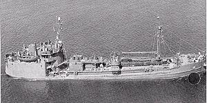 T1 tanker - Image: USS Mettawee;09201701