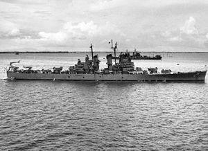 USS Topeka (CL-67) in Manila Bay 1946.jpg