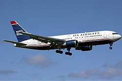 Boeing 767-200ER der US Airways