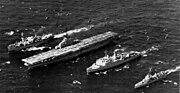 US Amphibious Ready Group TG 76-5 underway 1965