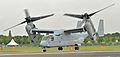 US Marine Corps V-22 Osprey - Farnborough Airshow 2012.jpg