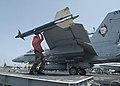 """US Navy 020703-N-3986D-001 An inert RIM-7 """"Sidewinder"""" missile.jpg"""