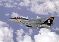 US Navy 021014-N-1955P-004 F-14 Tomcat assigned to VF-103 conducts mission over the Mediterranean Sea.jpg