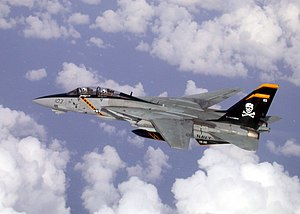 VFA-103 - VF-103 F-14B in high visibility markings