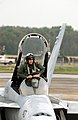 US Navy 041206-N-6842R-018 Adversary pilot, Lt. cmdr. Thad Shelton climbs into his F-A-18A- Hornet.jpg