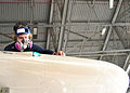 US Navy 061116-N-3013W-022 Aviation Electronics Technician Chief Jason Simmons is inspecting the starboard wing of a P3-C Orion for bare metal and corrosion.jpg
