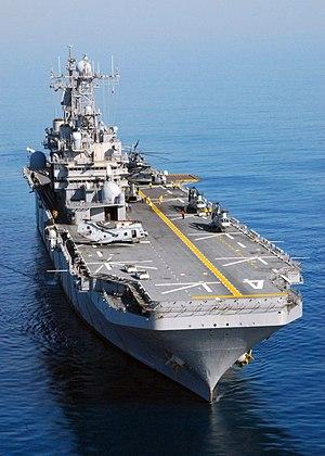 Raid of Nassau - USS Nassau (LHA-4)