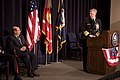 US Navy 090123-N-7090S-089 Chief of Naval Operations Adm. Gary Roughead speaks at the farewell ceremony for Secretary of the Navy the Honorable Dr. Donald C. Winter.jpg
