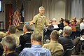 US Navy 120111-N-PO203-083 Rear Adm. Matthew L. Klunder, the 24th chief of naval research, discusses his 2012 priorities during his first all-hands.jpg