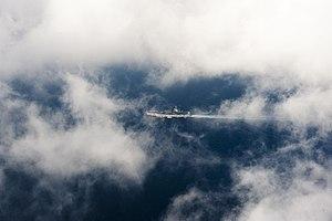 US Navy 120119-N-OY799-318 The Nimitz-class aircraft carrier USS John C. Stennis (CVN 74) transits the Arabian Sea.jpg