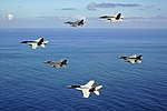 US Navy and Chilean aircraft in flight in October 2015.JPG
