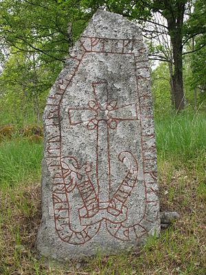 Viking runestones - Runestone U 611.